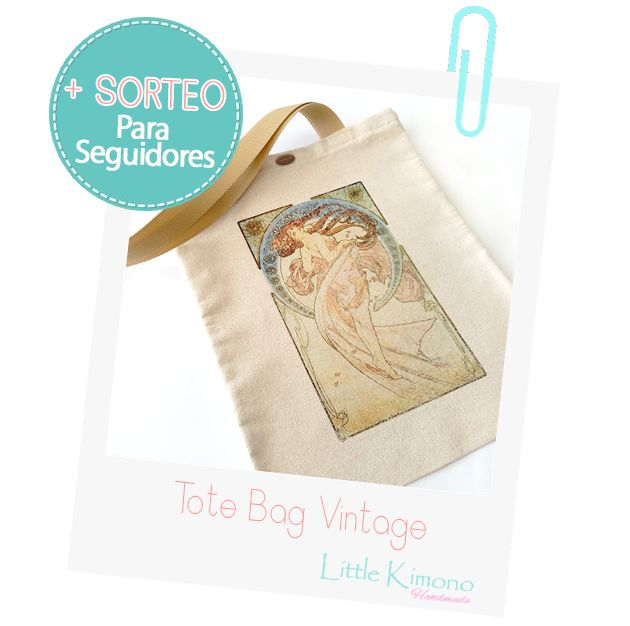 Tote bag Vintage + Sorteo