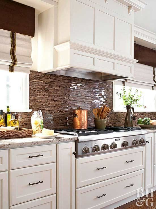 Transform your kitchen with one of these stylish backsplash ideas.