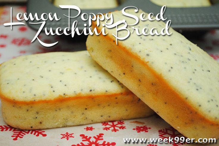 Gluten Free Lemon Poppy Seed Zucchini Bread Recipe & Sweet Creations ...