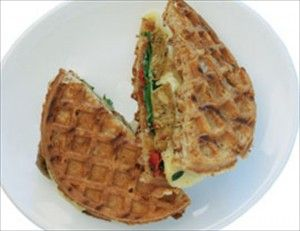 Paninis, Tempeh bacon and Waffles on Pinterest