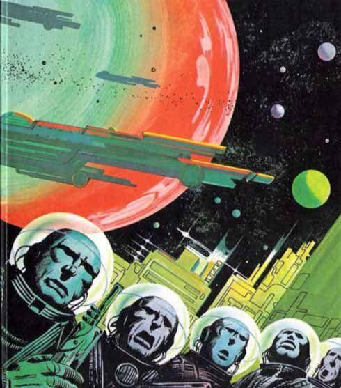 Vintage Science Fiction Wallpaper Google Search: 182 Best 50's Space Art! Images On Pinterest