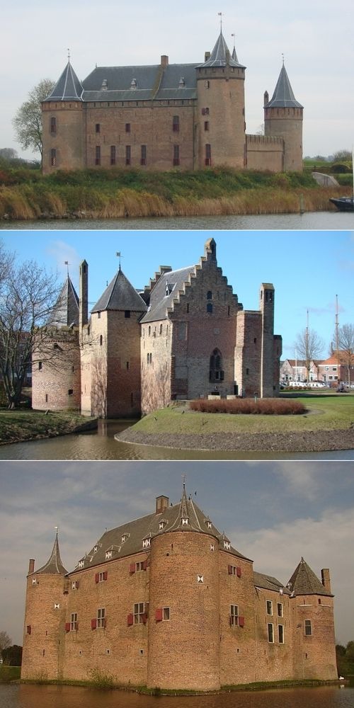 The 10 Most Beautiful Castles In Netherlands - http://666travel.com/the-10-most-beautiful-castles-in-netherlands/