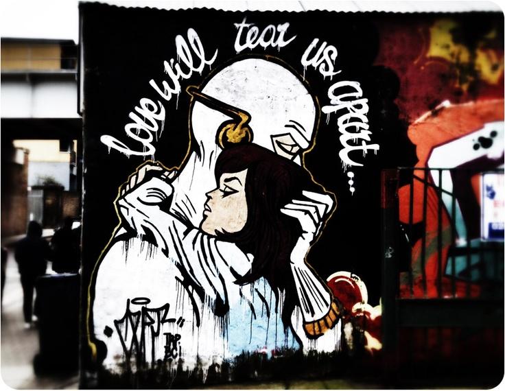 Nice Graffiti in Shoreditch, London