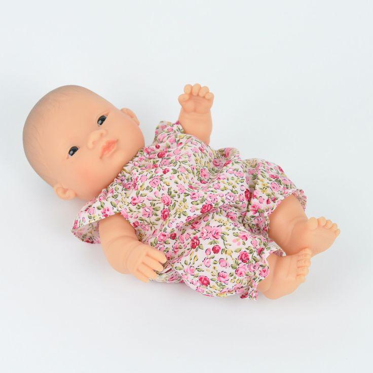 Romper Baby Miniland różyczki