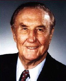 Strom Thurmond.  Time has shown he was misguided, but he fought harder for what his constituents believed in than any other politician.
