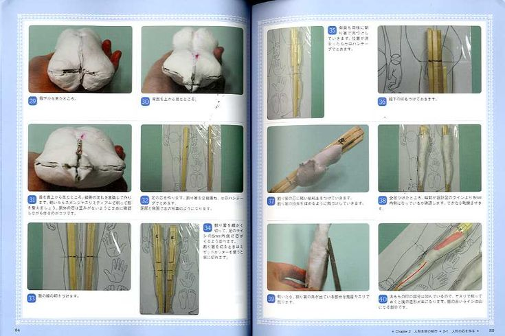 How to Make Your First Ball Jointed Doll