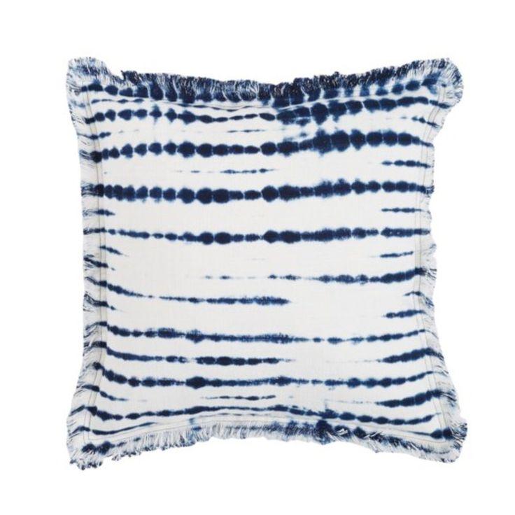 Blue Tie Dye Pillow