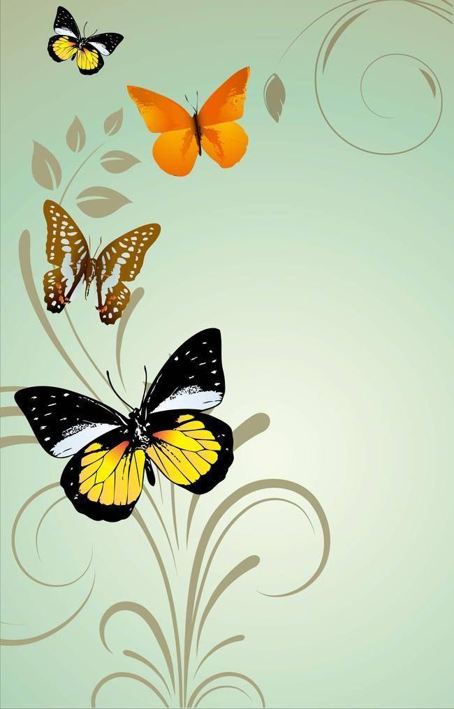 الفراشة الملونة المواد الاساسية على ضوء أزرق كرمة الرجل Butterfly Background Colorful Butterflies Healthy Dinner Recipes Easy