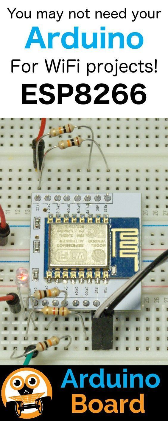 1161 best electrical electronics comp images on pinterest diy esp8266 as an arduino fandeluxe Images