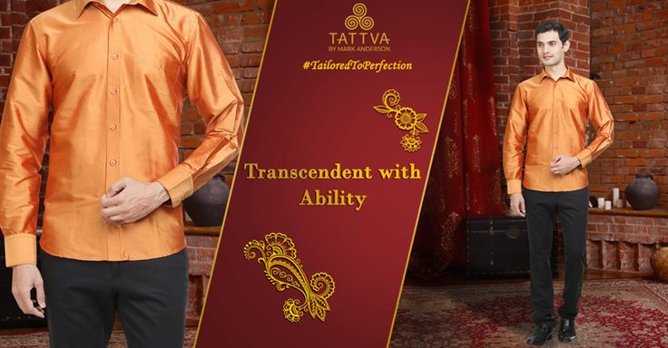 #TailoredToPerfection Keep your style simple and sober and witness the effect a #TattvaMan has on the crowd. Be #TranscendentWithAbility. #TattvaByMarkAnderson