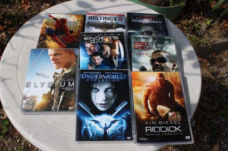 DVD film fantascienza e generi vari