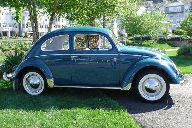 1964 Sea Blue VW Beetle: 1964 Sea, Vw Beetles   Volkswagen ...