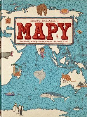 Mapy - książka // Dwie Siostry - wydawnictwo