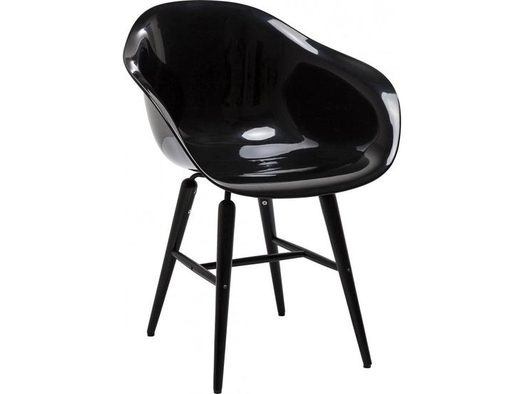 Krzesło Forum Matt czarne — Krzesła Kare Design — sfmeble.pl