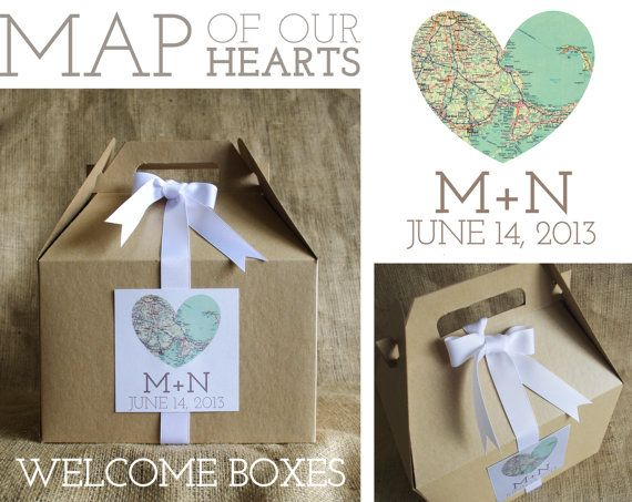 ... map wedding party favors taylors wrapping maps wedding inspiration
