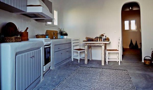Aletro cottage houses, kitchen area