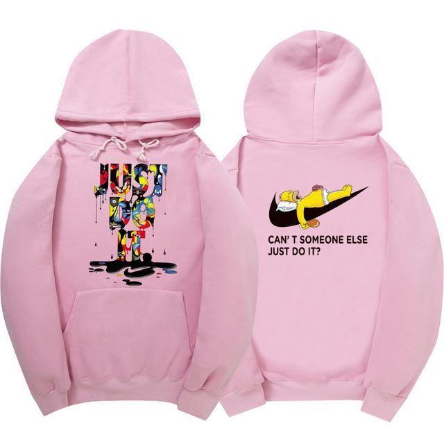 New just do it hoodies poleron hombre fashion skateboard Streetwear sweatshirt polerones mujer men women hoodie sweat homme 9818 #fashionhoodiemens