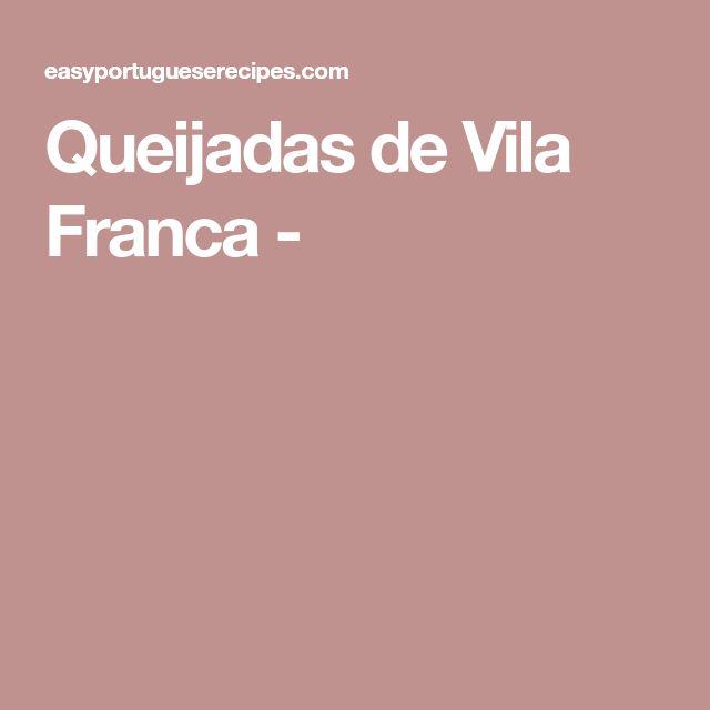 Queijadas de Vila Franca -