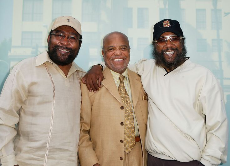 berry gordy | Berry Gordy and Eddie Holland - The Miracles Honored At The Hollywood ...
