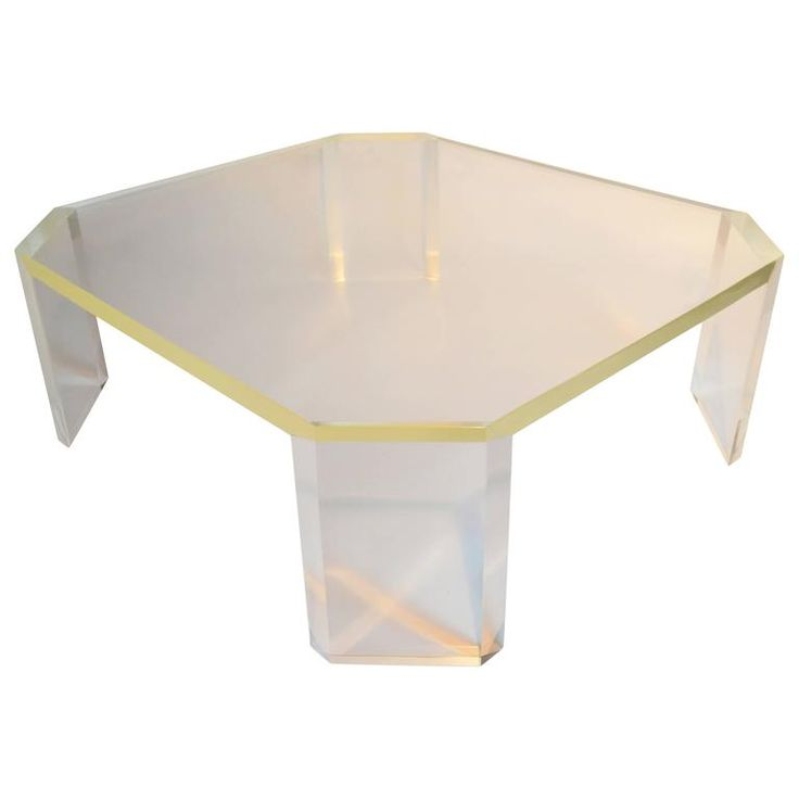 coffee tables cocktail lucite table base ebay round