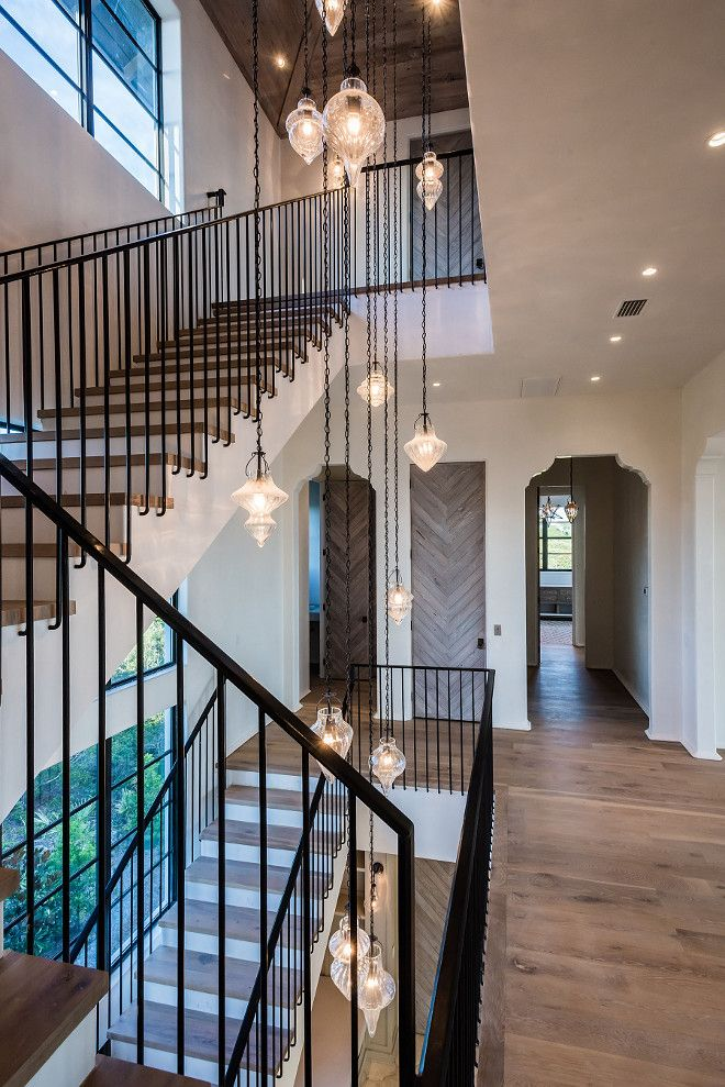 great idea for stairway lighting