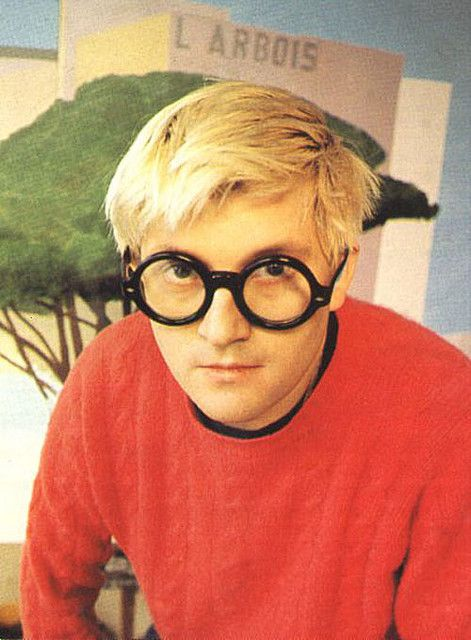 david hockney...oh your blues and greens..