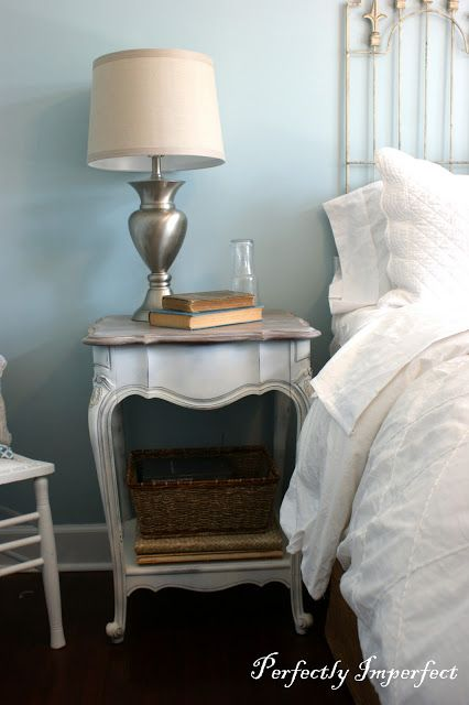 Guest Bedroom End Table Makeover. Best 10  Bedroom end tables ideas on Pinterest   Decorating end