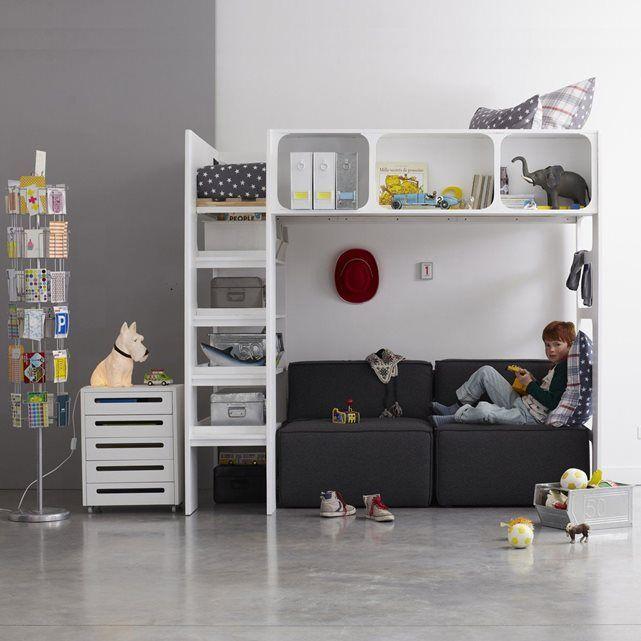 1000 ideas about lit mezzanine on pinterest mezzanine lit mezzanine enfant and beds. Black Bedroom Furniture Sets. Home Design Ideas