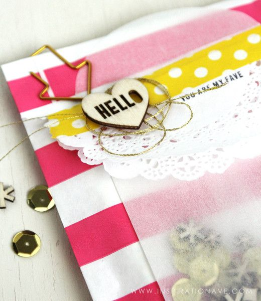 Card Making Embellishment Ideas Part - 39: Amyu0027s Party Favor Bag | Freckled Fawn