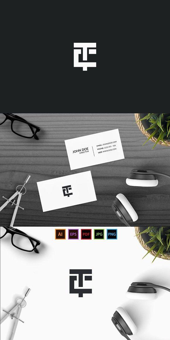Tc Creative Logo Logo Design Creative Logo Design