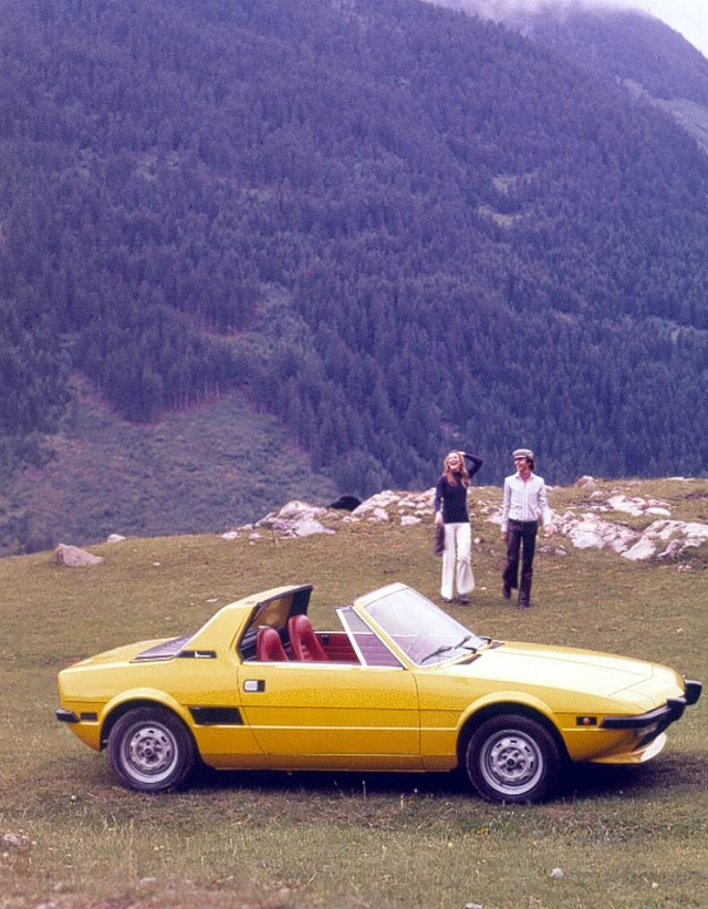 Fiat x19 - my Dad traded work on a Maserati for a silver x19 we could fix up…