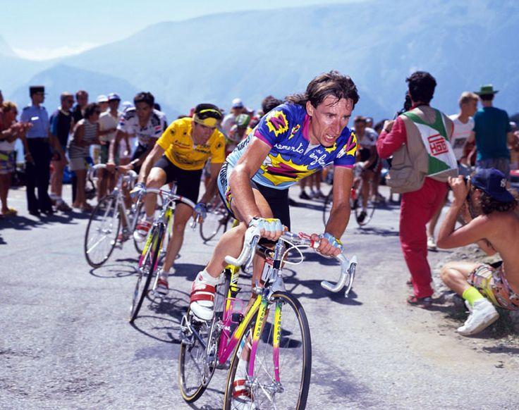 Cycling legend Robert Millar.