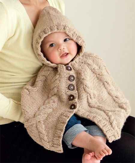 baby cape ... what a lovely idea