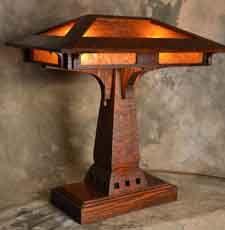 Craftsman / Prairie Style lamp (FLW love)