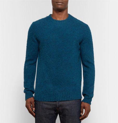 56b1bac9c269 Petrol Wool That s Sweater Shetland Aspesi s Is From Knitted Soft dPd0qZw