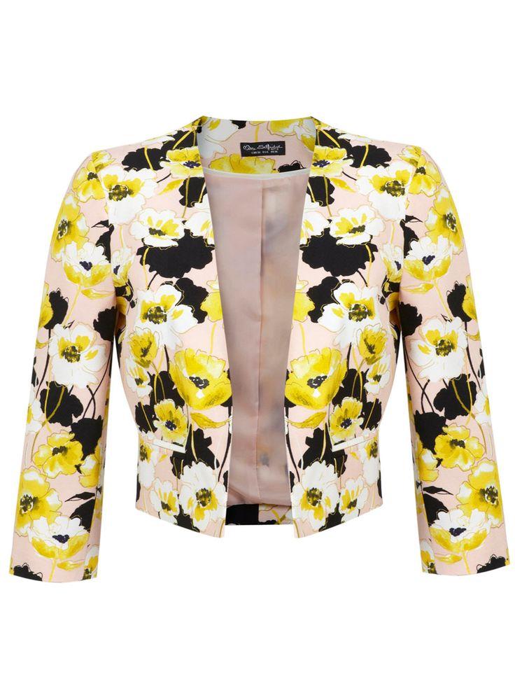 Blazer à imprimé fleuri - Manteaux & Vestes - Vêtements - Miss Selfridge France