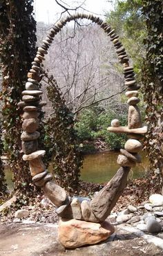 Stone Sculpture to add to your view of the world