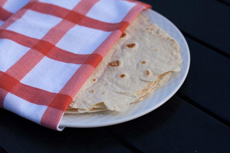 Hjemmelavede tortilla wraps