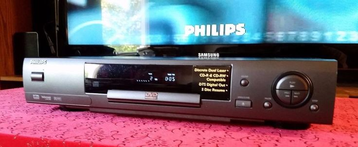 PHILIPS DVD701 DVD/CD PLAYER TESTED #Philips