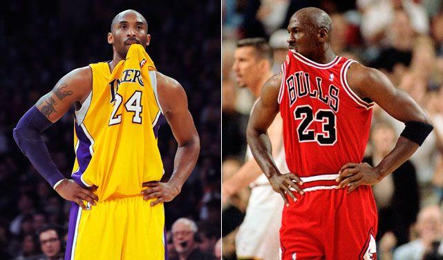 Kobe Bryant And Michael Jordan | Kobe Bryant vs. Michael Jordan - Photos - SI.com