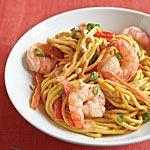 Cold Peanut Noodles with Shrimp Recipe | MyRecipes.com