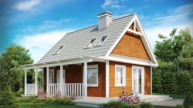 Projekt domu SZ5 Z39 - DOM OZ1-13 - gotowy projekt domu