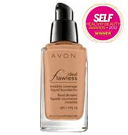 Ideal Flawless Invisible Coverage Liquid Foundation. Not gonna lie...this is the best foundation I have ever used!