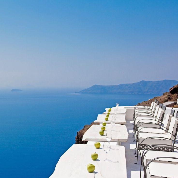 San Antonio—Santorini, Greece. #Jetsetter