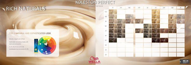 Wella Professionals Koleston Perfect Presents The Color - Rich Naturals.