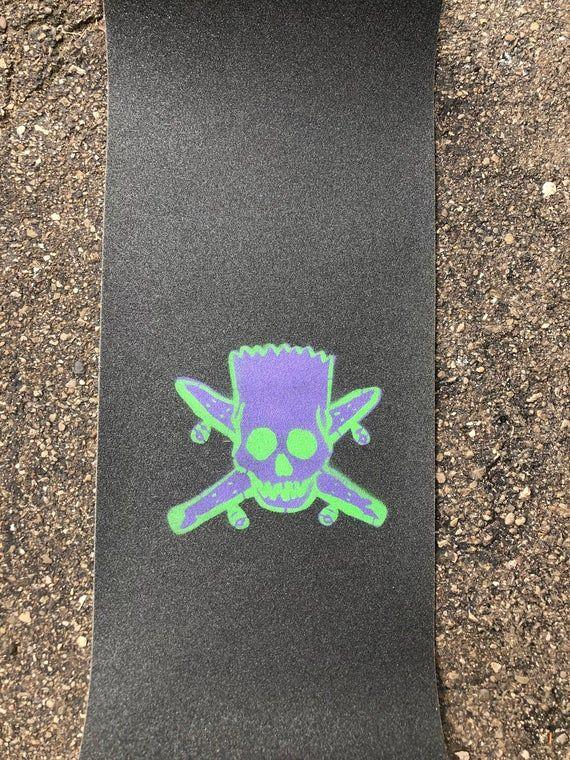 Bart Simpson FourStar Skull griptape