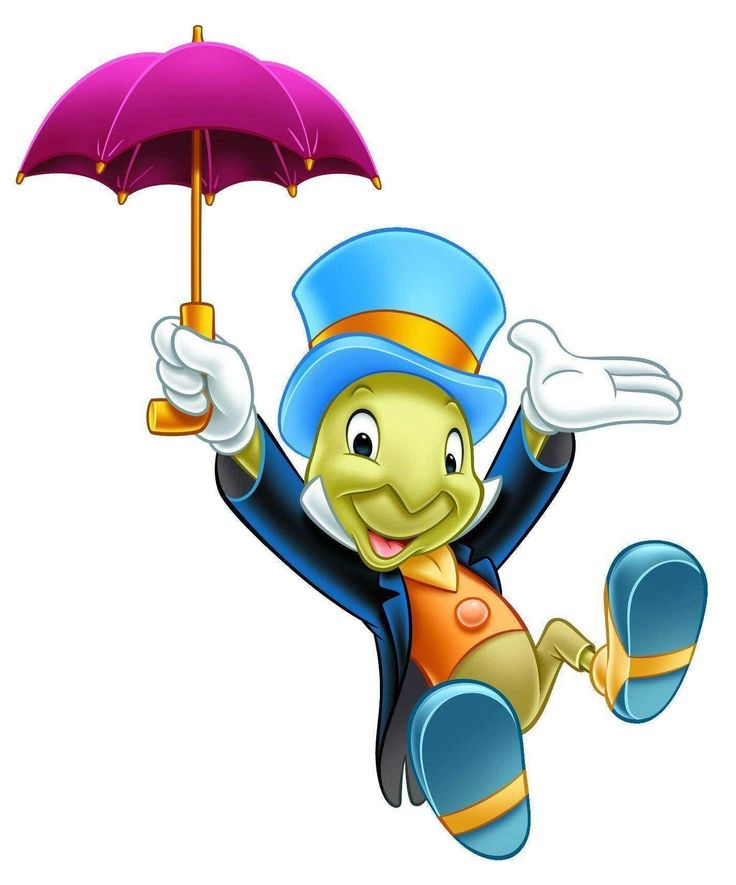 Jiminy Cricket - my favourite Disney character