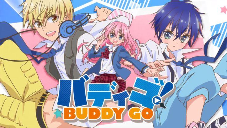 Primer vídeo promocional de la adaptación animada del manga Buddy Go!