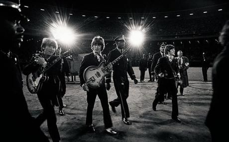 The Beatles at Candlestick Park, San Francisco in 1966