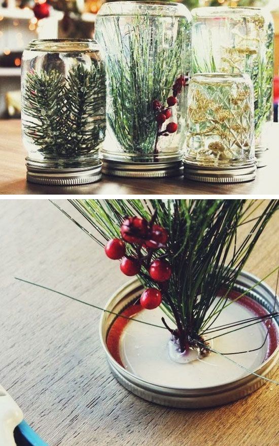 DIY Underwater Festive Forest | Click for 28 Easy DIY Christmas Decor Ideas on a…